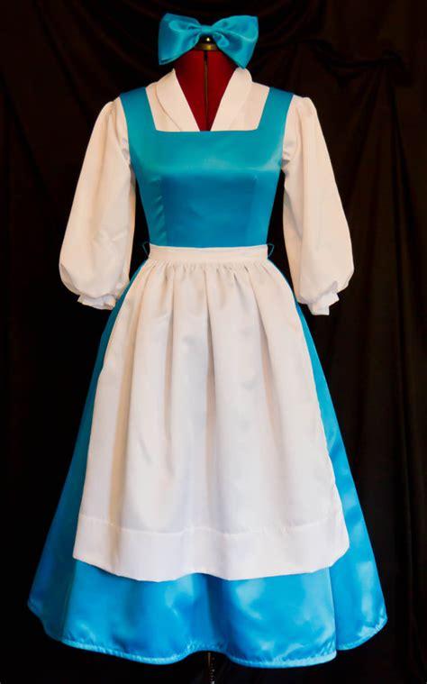 deluxe blue belle blue provincial costume custom size