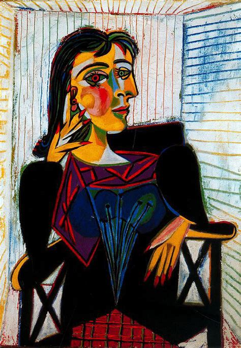 Portrait Of Maar Picasso Pablo Wikiart Org