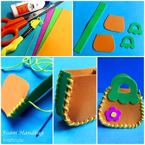 Simple Foam Sheet Craft Ideas Step By Step K4 Craft