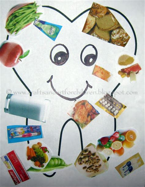 health crafts for tips for healthy teeth great tips and activities