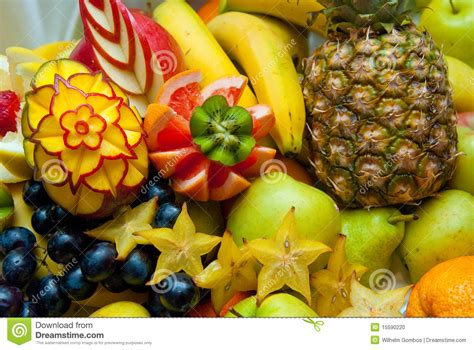 decorative fruits decorative fruit sculpture stock photo image 15590220