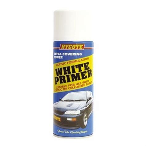spray painting without primer hycote white primer for cars vans other uses spray