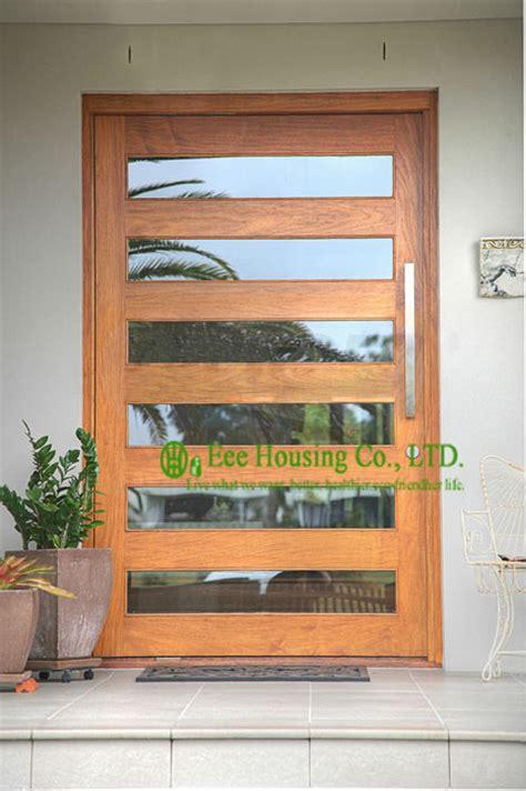 exterior wood doors cheap get cheap exterior glass doors aliexpress