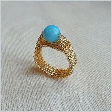 bead ring seed rings gems jewels pearls metals