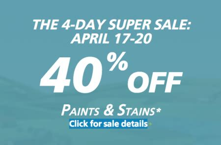 sherwin williams paint store edmonton ab sherwin williams 4 day sale 40 paints and
