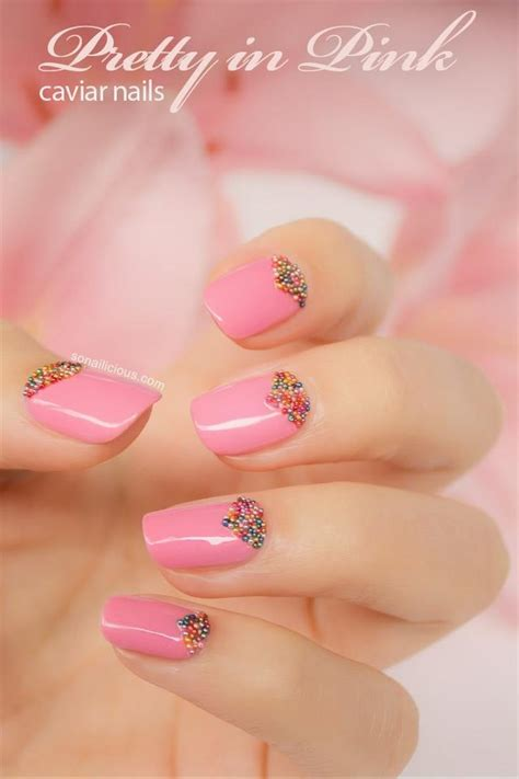 nail beading wedding nail design bridal