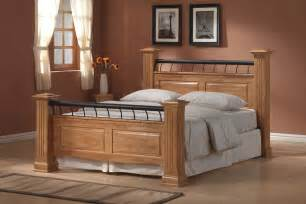 wood king size bed frames king size wood bed frame plans andreas king bed