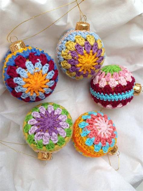 crochet tree ornament 30 wonderful diy crochet ornaments