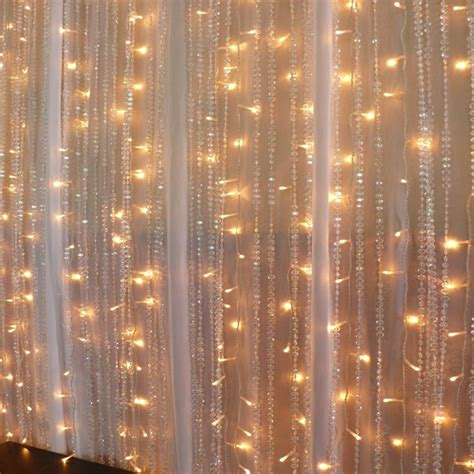sheer curtains with lights 2m led curtain lights festive lights