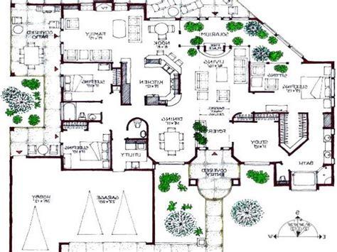 modern contemporary floor plans modern house plans bungalow