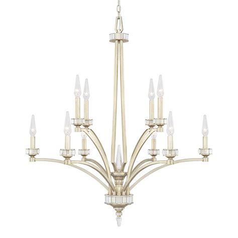 Capital Lighting Chandeliers Capital Lighting 415001wg 10 Light Chandelier In