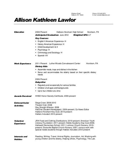 sample resume gpa sample resume