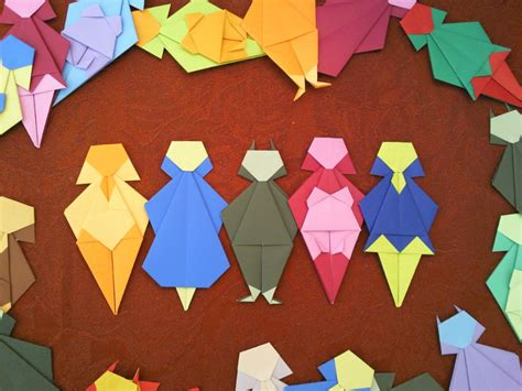 origami person origami paper stereotypes intended by