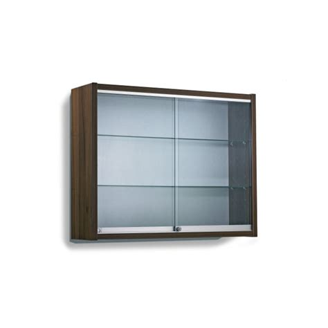 wall mounted display shelves contemporary display cabinet 2 glass shelves wall mounted