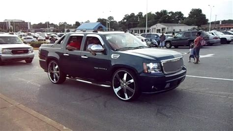 Chevrolet And Cadillac by Cadillac Dts On 22 Lexani S And Chevrolet Avalanche On
