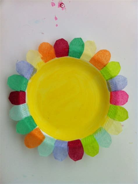paper plate flower craft paper plate flower petals of promise ideas