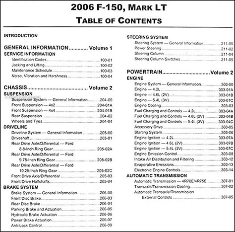 car service manuals pdf 2006 lincoln mark lt electronic toll collection 2006 ford f 150 lincoln mark lt repair shop manual 2 volume set original
