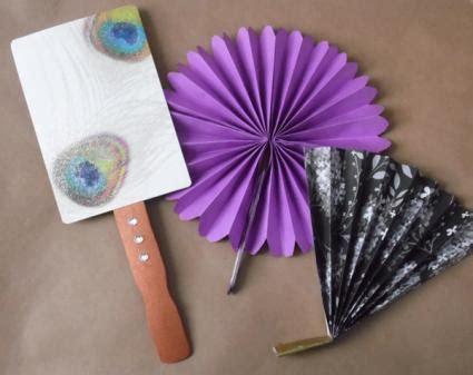 useful paper crafts paper fan crafts
