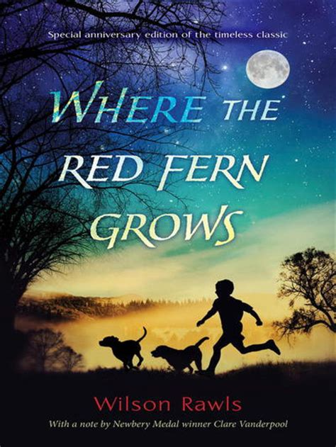 where the fern grows pictures from the book where the fern grows by wilson rawls anthony heald