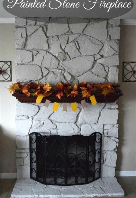 Diy Painted Fireplace Hometalk