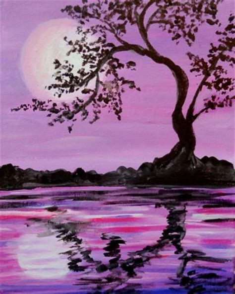 paint nite island pictures 25 best ideas about silhouette painting on