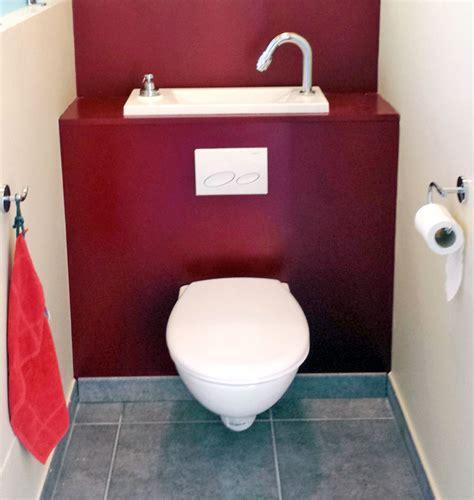 immobilier wc suspendu avec lave integre