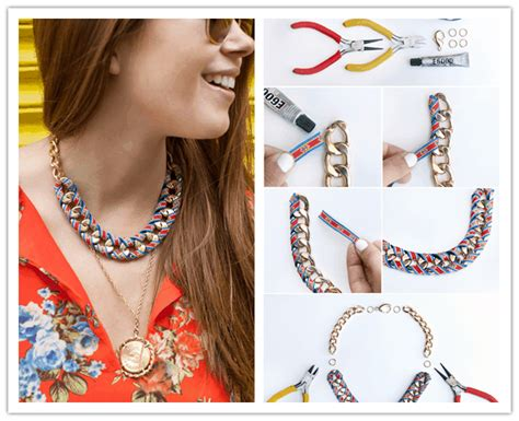 how to make statement jewelry 15 awesome diy statement necklaces fashionsy