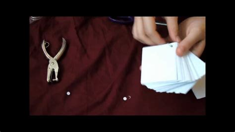 how to make flash cards at home diy on the go studying flash cards