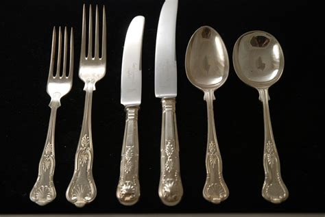 from silverware a silver plate flatware set in the pattern