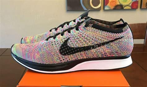 fly knit nike flyknit racer multicolor 2016 grey tongue sneaker
