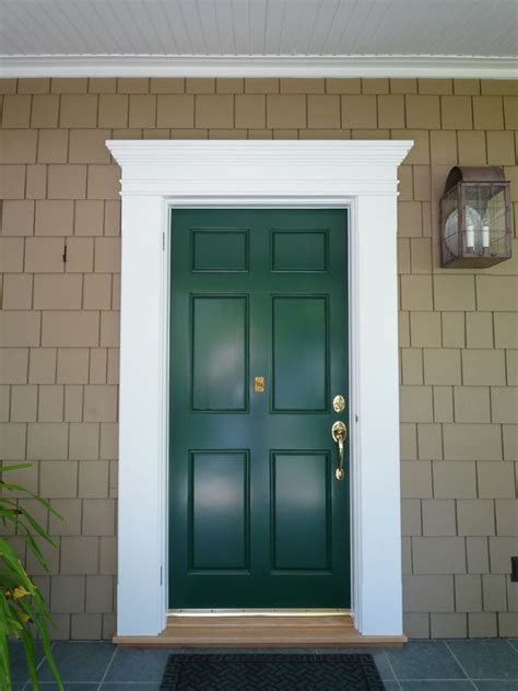 exterior door trim ideas search house remodel