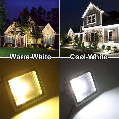 landscape lighting flood vs spot led floodlight 10w 20w 30w 50w waterproof ip65 led outdoor spotlight grey aluminum shell cool