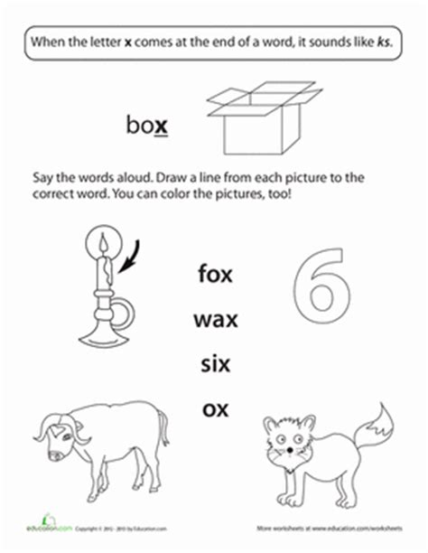 3 letter x words scrabble starts with x ending sounds x worksheet education