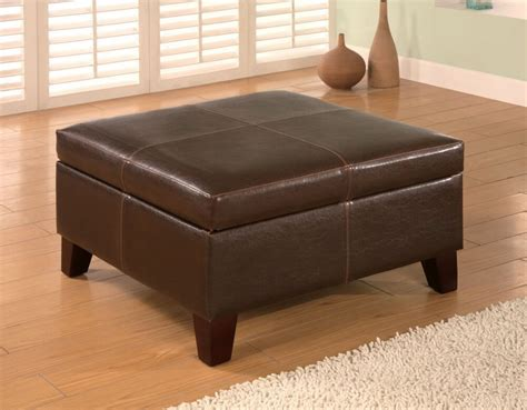 leather ottomans 36 top brown leather ottoman coffee tables