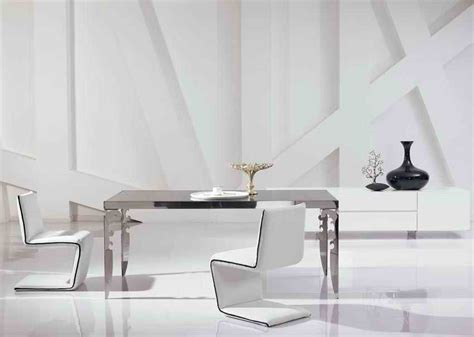 steel dining room chairs stainless steel dining room chairs 1965 1970 set of