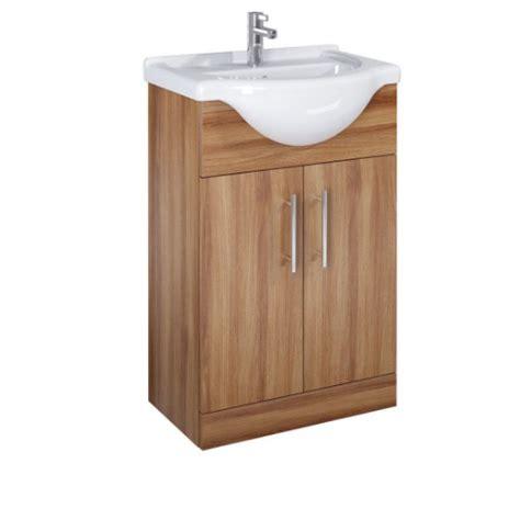 walnut vanity belmont 55cm walnut vanity unit