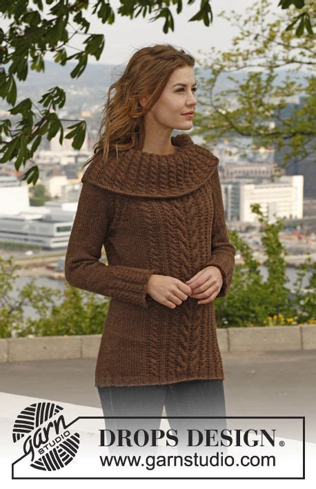 drops knitting patterns free knitted drops jumper with cables raglan dec and large