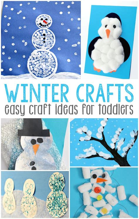 easy winter crafts for best 25 winter ideas that you will like on