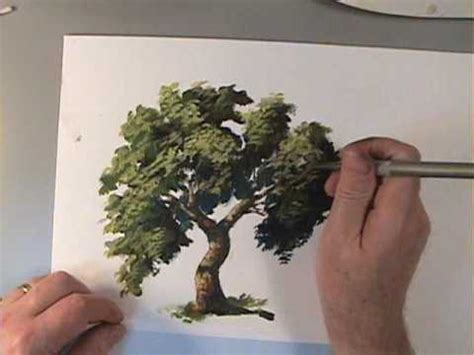 paint tree how to paint trees preview