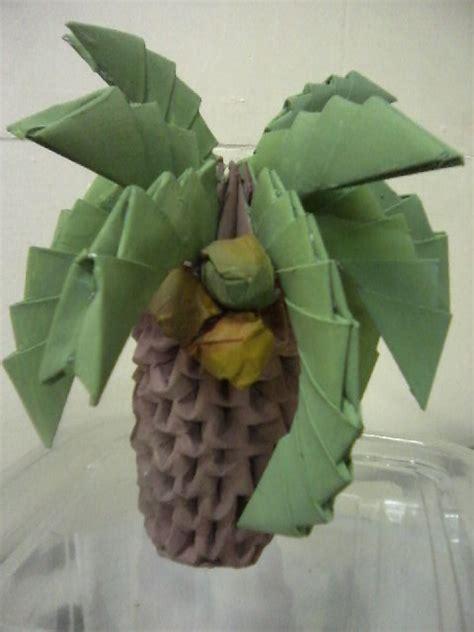 origami palm tree 3d origami palm tree by rustiiaqua on deviantart