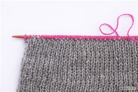 how to knit a scarf step by step how to knit a scarf 12 steps with pictures wikihow