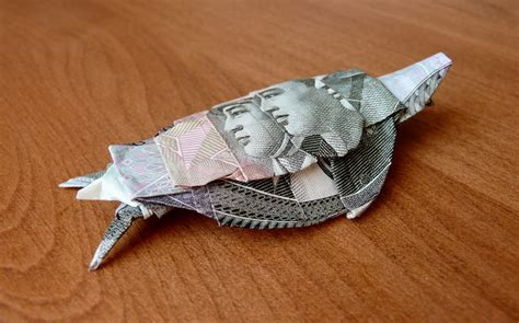 turtle dollar origami money origami turtle v5 by craigfoldsfives on deviantart