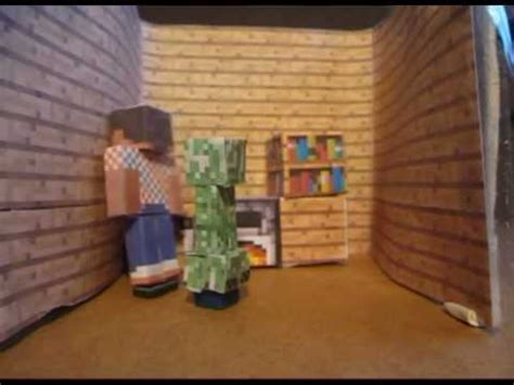 paper craft home minecraft papercraft a creeper at home