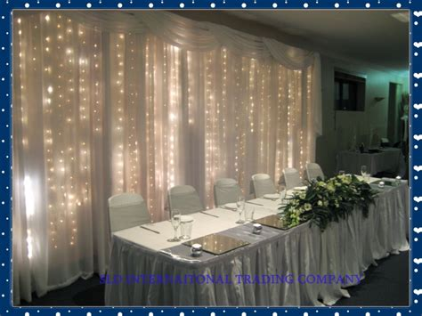 drapes and lights for weddings aliexpress buy 3 6m white silk wedding backdrop