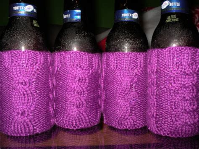 knit koozie will knit for koozie patterns