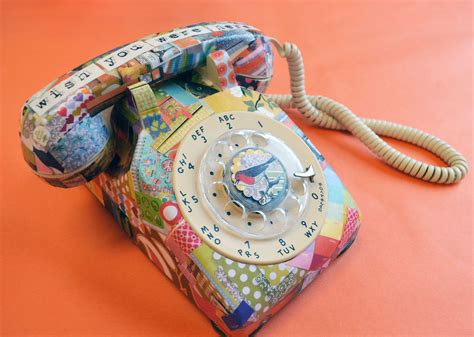 decoupage artists to whom i am speaking decoupage telephone small