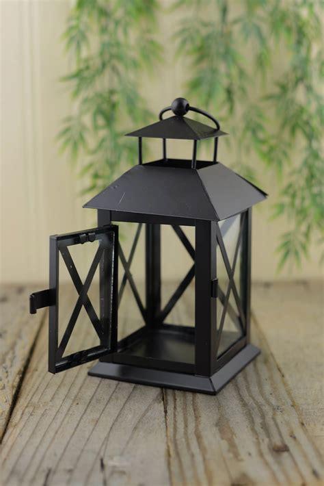 metal lantern metal lantern black 7in