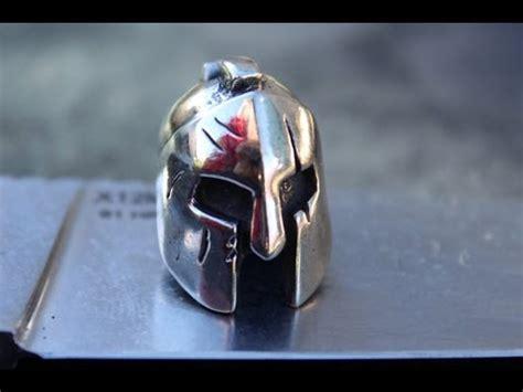 spartan helmet bead karboffos molon labe spartan helmet bead