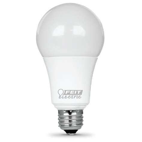 led light bulbs for home 100 watt equivalent feit electric 100w equivalent warm white a19 dimmable led