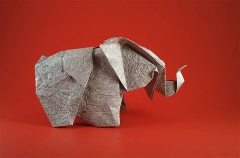 origami baby elephant origami elephants 3 gilad s origami page